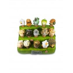 esp + 30 turaccioli animali (2xtipo)