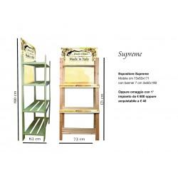 espositore supreme 73x63x171