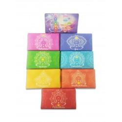 Serie 16 pz saponi dei Chakra