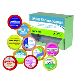 Serie 50 pz mini farma saponi