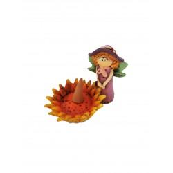 Fata Solaria fatina dei fiori brucia incensi