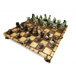 Scacchi zombi vs fantasmi solo scacchi