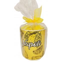 Mug personalizzato  e sacchettino con 3 saponi limone 25 gr conf. cellophane