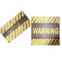 Mascherina per la collettività warning