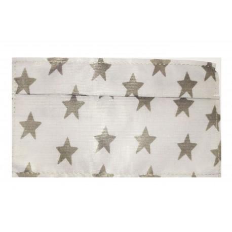 Mascherina per la collettività con stelle